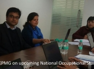Reviewing national occupational standards